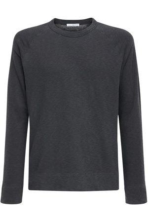 James Perse Cotton Raglan Sweatshirt