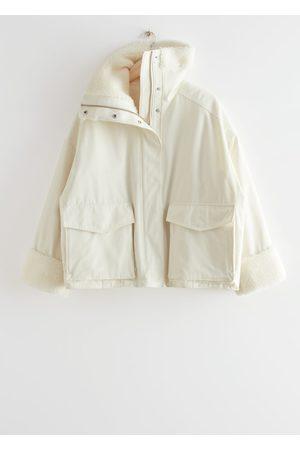 & OTHER STORIES Women Jackets - Oversized Boxy Shearling Jacket