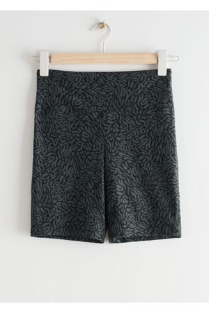 & OTHER STORIES Quick-Dry Yoga Shorts - Grey