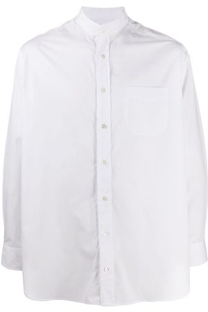 MACKINTOSH Men Shirts - Roma mandarin collar shirt