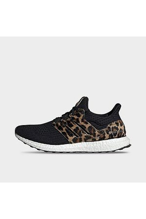 adidas Women Running - Women's UltraBOOST DNA Leopard Running Shoes in Size 6.0 Suede/Knit