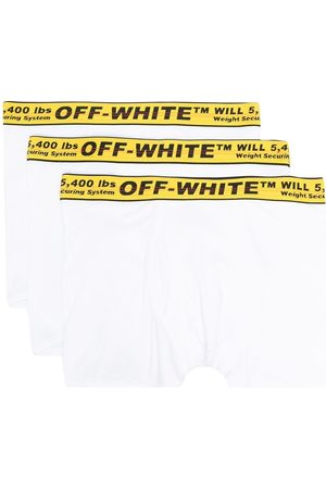 OFF-WHITE Three-pack Industrial-band boxers