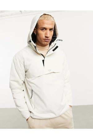 Bershka Overhead windbreaker jacket in