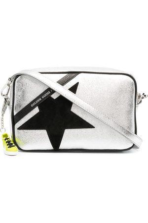 Golden Goose Women Shoulder Bags - Star metallic crossbody bag