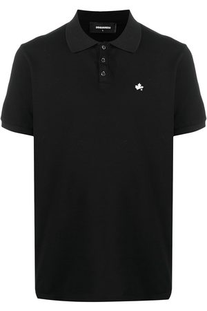 Dsquared2 Leaf-embroidered polo shirt