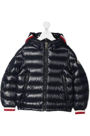Moncler Hooded zip-up puffer jacket