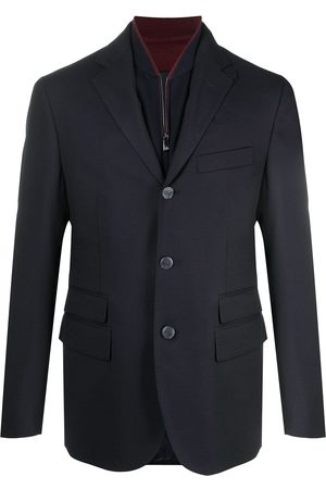 corneliani Layered button-front blazer