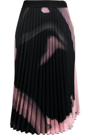 OFF-WHITE Women Pleated Skirts - Liquid Melt pleated skirt
