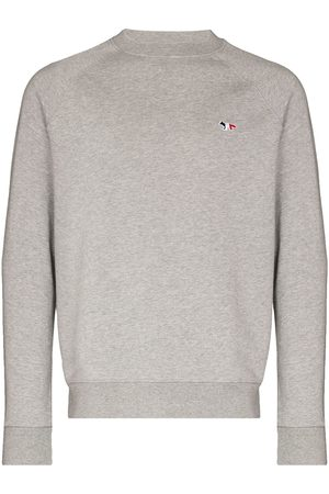 Maison Kitsuné Embroidered logo sweatshirt - Grey