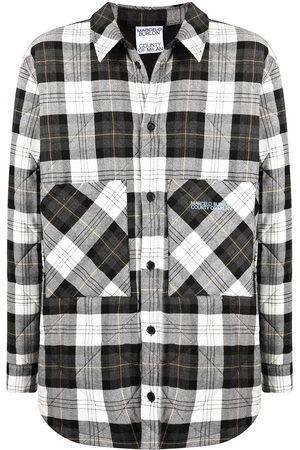 MARCELO BURLON Checked shirt jacket