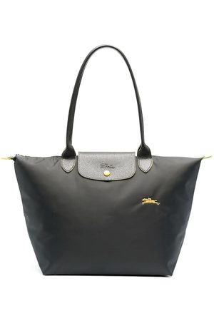 Longchamp Large Le Pliage shoulder bag - Grey