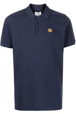 Kenzo Tiger-embroidered polo shirt