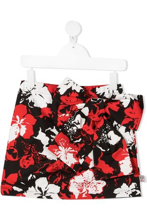 Nº21 Floral print mini skirt