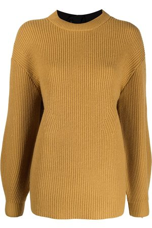 PROENZA SCHOULER WHITE LABEL Rear tie detail knit jumper