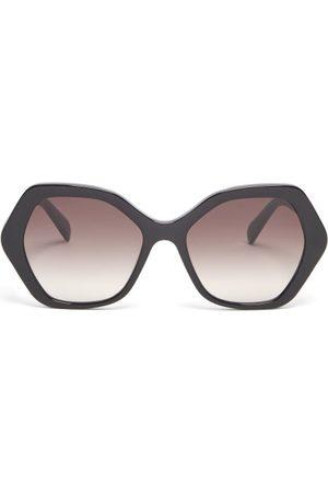 Céline Hexagonal Acetate Sunglasses - Womens