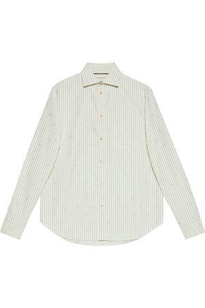 Gucci GG stripe fil coupé shirt
