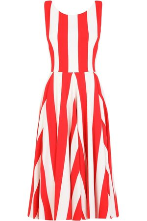Dolce & Gabbana Striped pleated dress
