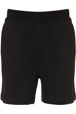 Dsquared2 Icon Print Cotton Jersey Shorts