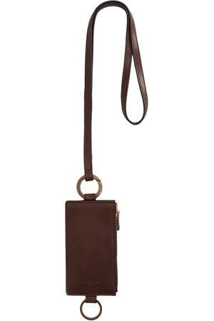 Dolce & Gabbana Lanyard leather cardholder