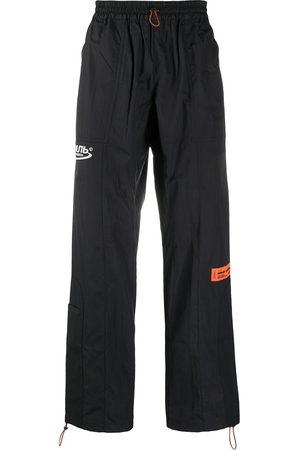 Heron Preston Men Sweatpants - Logo patch track trousers