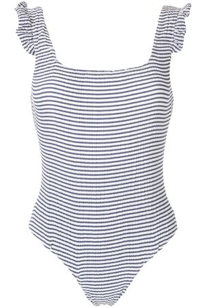 CLUBE BOSSA Lovisa striped swimsuit