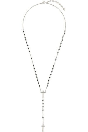Dsquared2 Men Necklaces - Beaded cross necklace