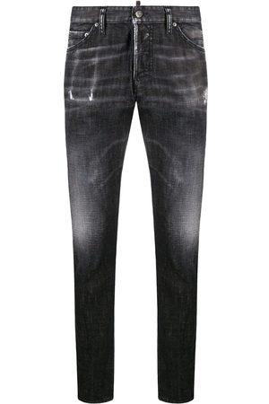 Dsquared2 Men Slim - Whiskered slim jeans