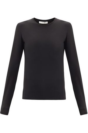 The Row Iverness Jersey Long-sleeved T-shirt - Womens