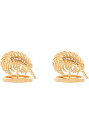 Dolce & Gabbana Crystal-embellished palm tree cufflinks - ZOO00 GOLDEN