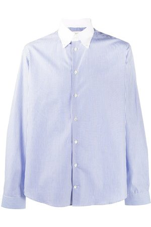 MACKINTOSH Men Shirts - Bloomsbury striped button-down shirt