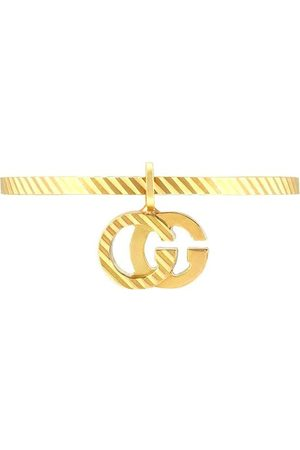Gucci 18kt yellow GG running ring