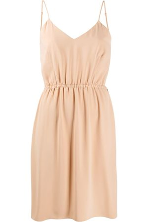 MM6 MAISON MARGIELA Sleeveless shift dress - Neutrals