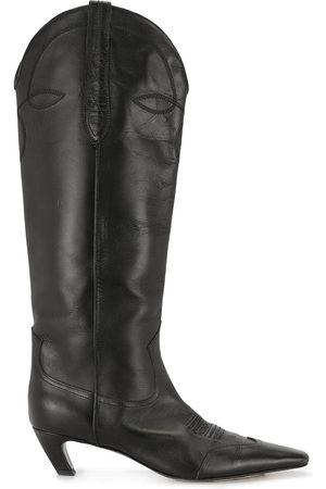 Khaite Women Thigh High Boots - Dallas knee-high 50mm boots