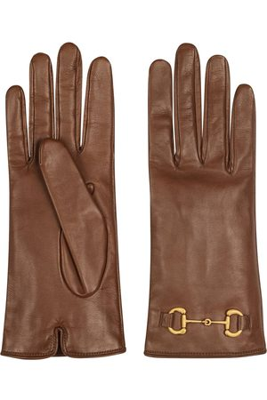 Gucci Horsebit-embellished gloves