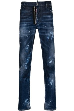 Dsquared2 Cool Guy distressed straight-leg jeans