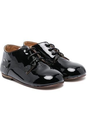Babywalker Boys Brogues - Lace-up patent leather brogues