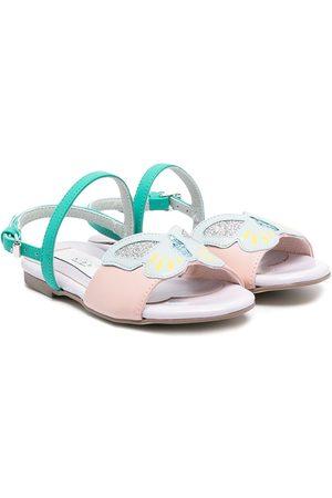 Stella McCartney Butterfly detail open-toe sandals