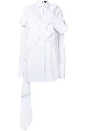 FRUCHE Osagie asymmetric shirt dress