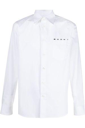 Marni Logo printed shirt