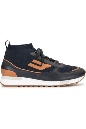 Bally Multi-panel design sneakers