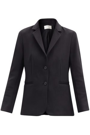 The Row Women Blazers - Brentwood Single-breasted Scuba Blazer - Womens