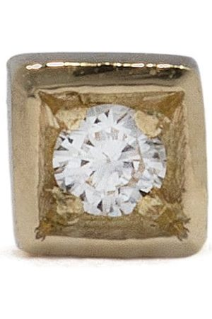 Feidt Paris 18kt yellow Bo Modele small diamond stud