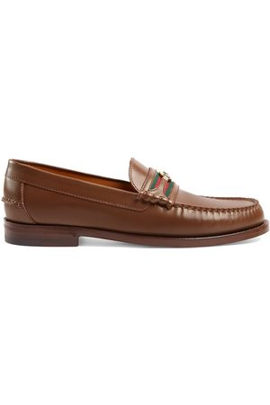 Gucci Kaveh Web detail loafers
