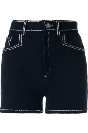 Barrie Stitch-detail shorts