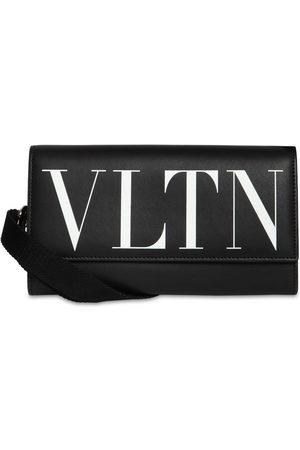 VALENTINO GARAVANI Men Wallets - Vltn Leather Travel Wallet