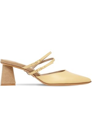 Jacquemus Les Chaussures Basgia Leather Mules
