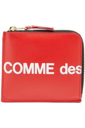 Comme des Garçons Logo-print Zip-around Leather Wallet - Mens