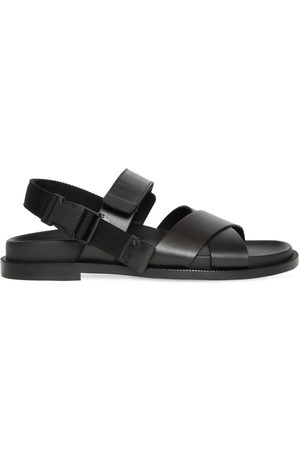 VALENTINO GARAVANI Leather Sandal W/ Double Tuck