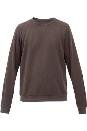 Les Tien Men Sweatshirts - Crew-neck Brushed-back Cotton Sweatshirt - Mens