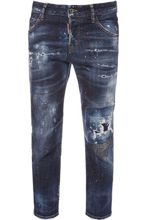 Dsquared2 Cool Girl Stretch Cotton Jeans